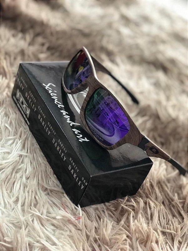 Óculos Oakley Jupiter Lente Roxa Frete Grátis