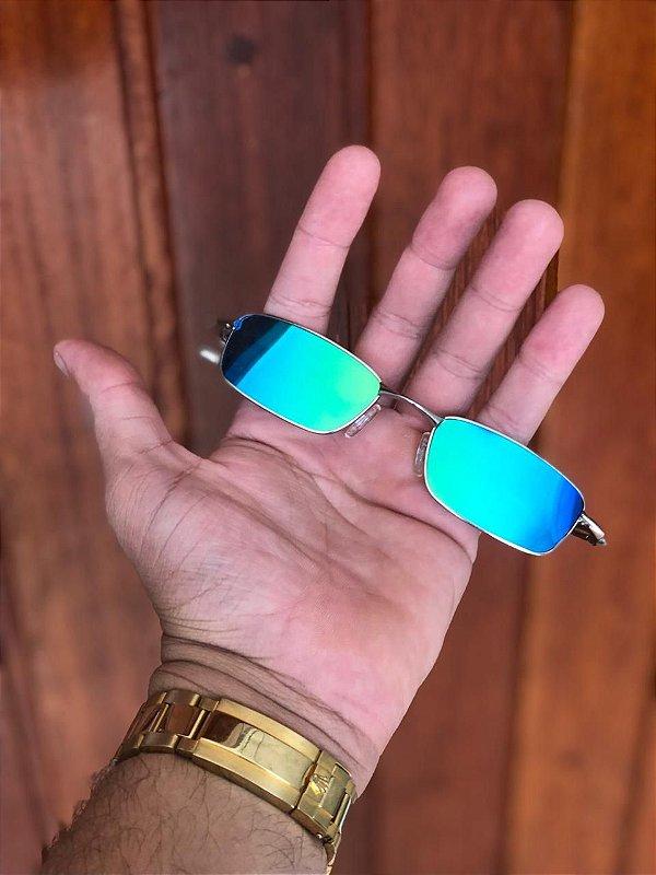 Óculos Oakley Personalizado Mc Menor Mr Lente Azul Clara Escuro Frete Grátis