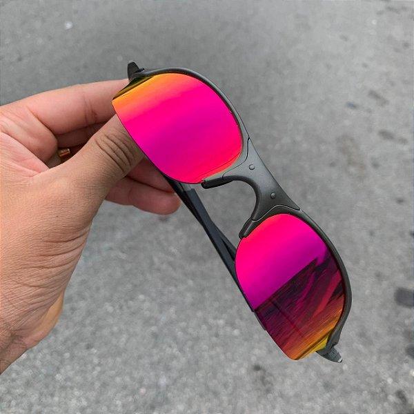 Óculos Oakley Romeo 2 Lente Iridium Brilho Reto Armação X-Metal Frete Grátis