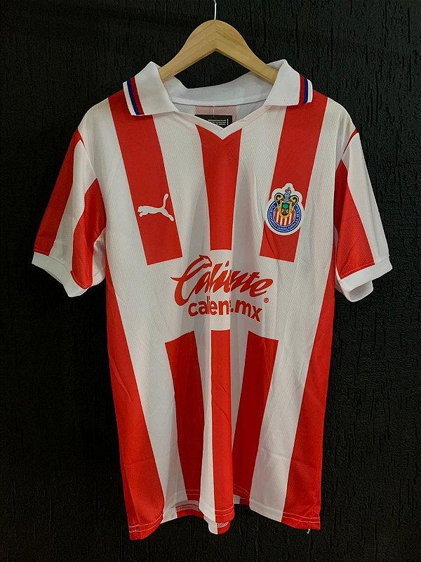 Camiseta Chivas Listrada 2021 Com Frete Grátis