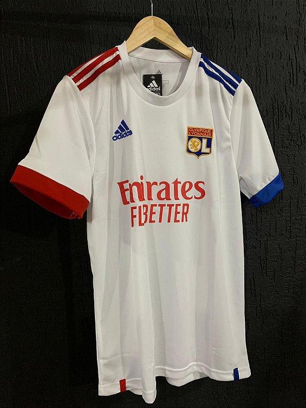 Camiseta Lyon branca 2021 Com Frete Grátis