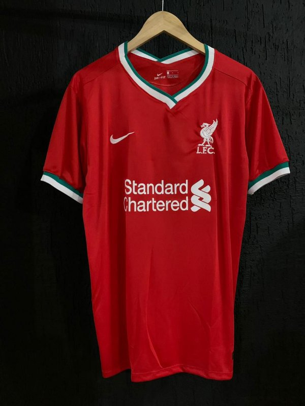 Camiseta Liverpool Vermelha 2021 Com Frete Grátis