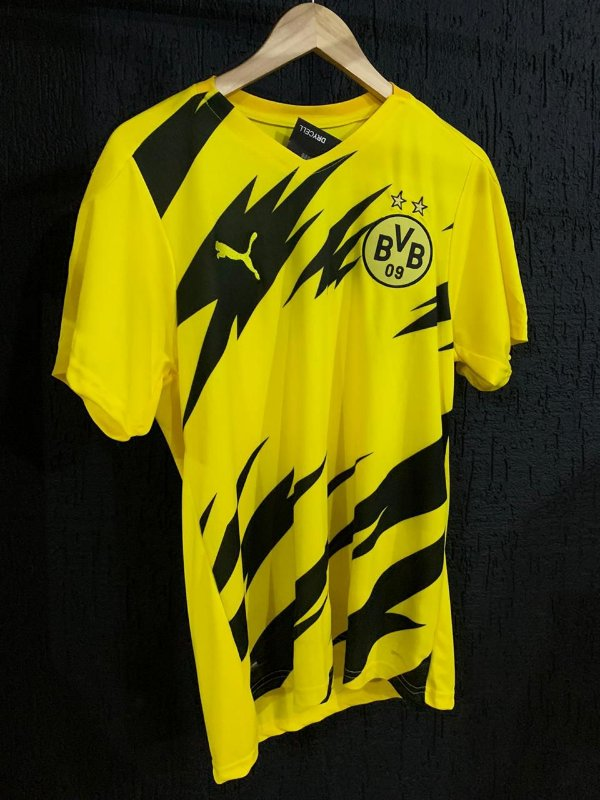Camiseta Borrusia Amarela 2021 Com Frete Grátis