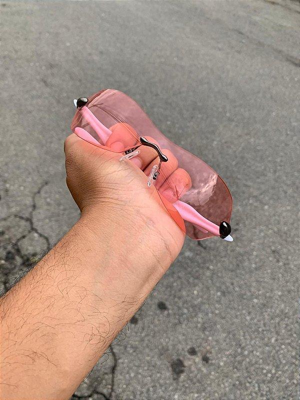 Óculos Oakley Dartboard Feminino Lente Rose Frete Gratis