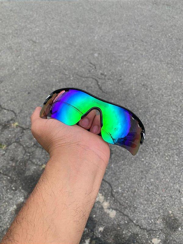 Óculos Oakley Radar Lente Verde Frete Grátis