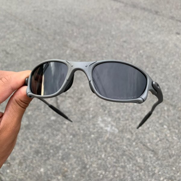 Oculos Oakley Doule X X-metal Lente Preta Frete Grátis