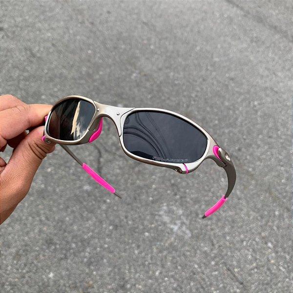Oculos Oakley Juliet Plasma Lente Preta Frete Grátis