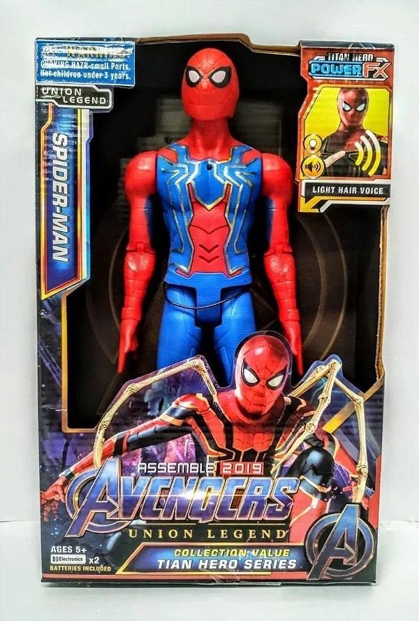 Boneco Homem Aranha Articulado 30 Cm