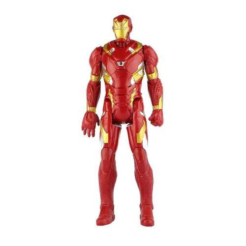 Boneco Homem De Ferro 30 Cm Com Som E Luz