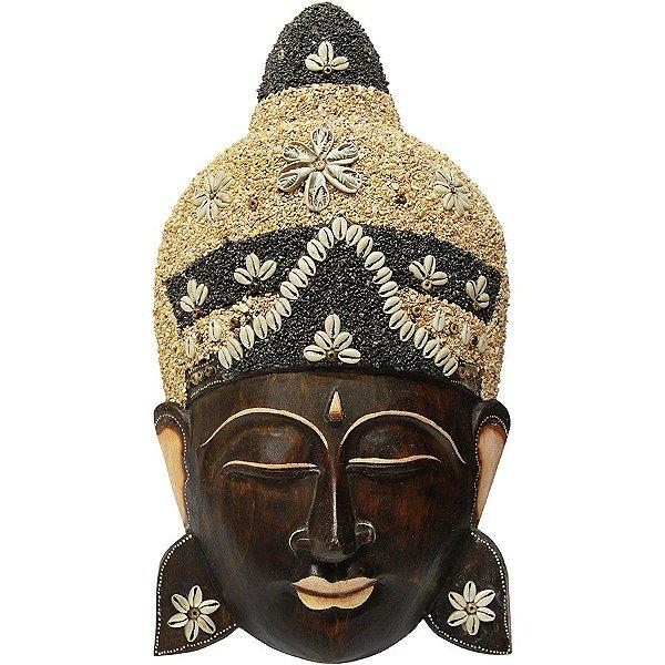 Máscara Buda Areia 50cm