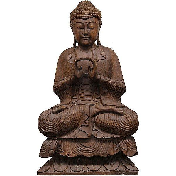 Buda Sentado Uttarabodhi 80cm