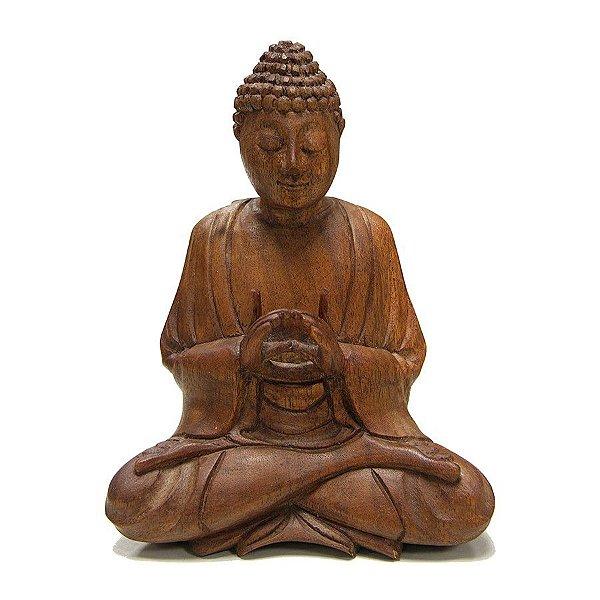 Buda Sentado Dharmachacra 50cm