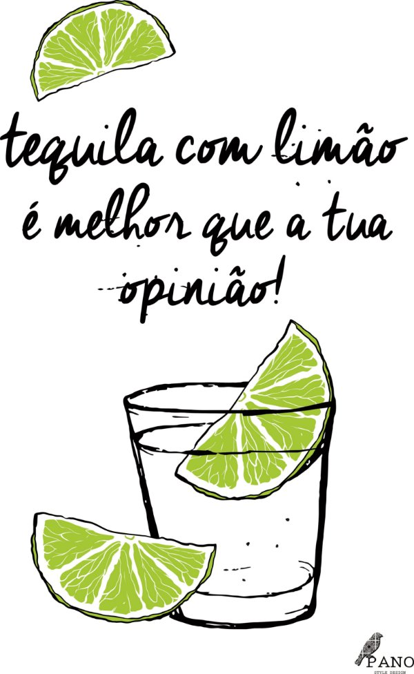 Pano de prato personalizado - Tequila