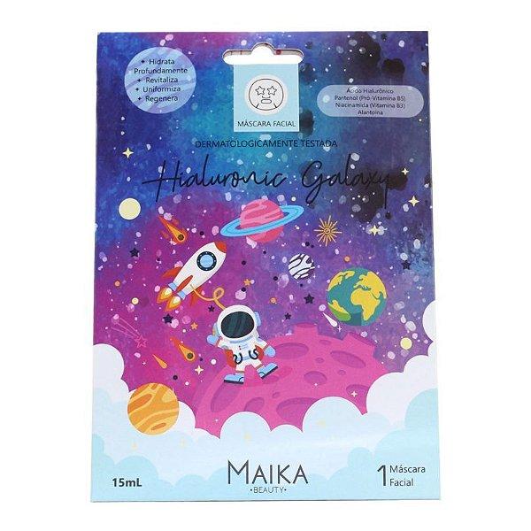 Máscara Facial Hialuronic Galaxy Maika Beauty 15ml