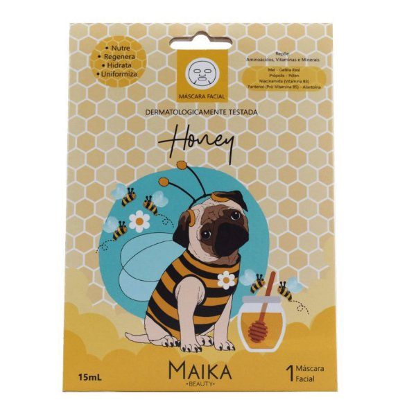 Máscara Facial Honey Maika Beauty 15ml