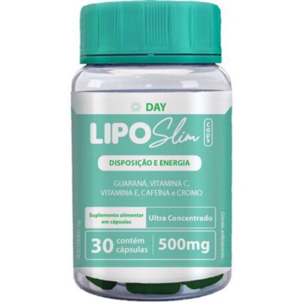 Lipo Slim Day Com 60 Cápsulas