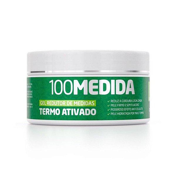 100Medida Gel Lipo Redutor De Medidas 250g Pote