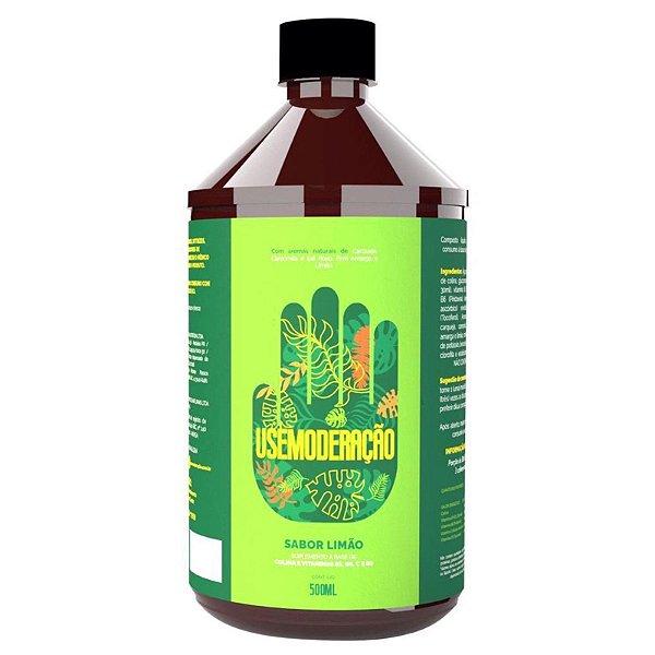 Moderação Detox Digestivo Natural 500ml Sabor Limão