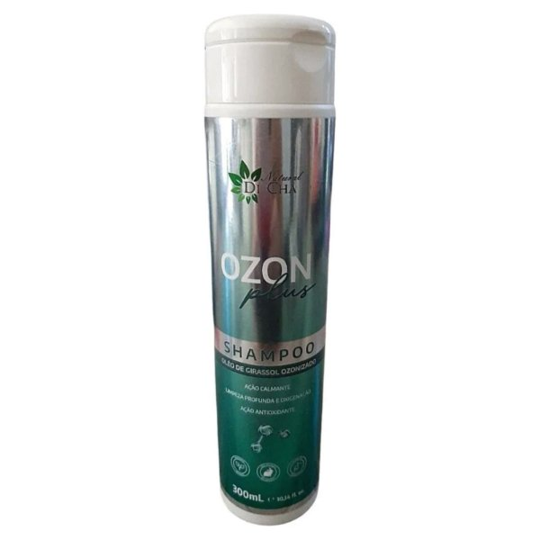 Shampoo Natural Ozon Plus 300ml Para Psoríase