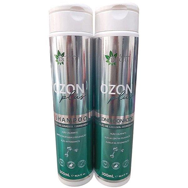 Shampoo E Condicionador Natural Ozon Plus 300ml