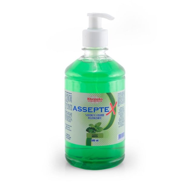 Sabonete Líquido Higienizante Asseptex Menta 500ml