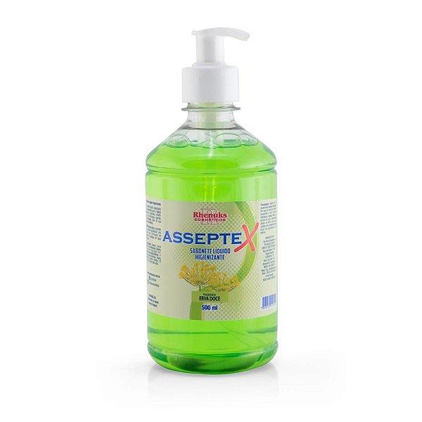 Sabonete Líquido Higienizante Asseptex Erva Doce 500ml
