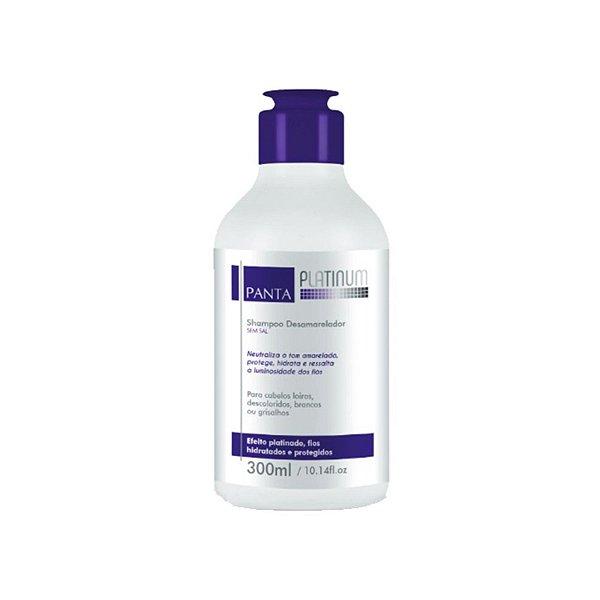 Panta Cosmética Shampoo Desamarelador Speciaux Platinum 300ml