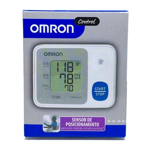 Medidor De Pressão Arterial Digital Pulso Omron Control 6124