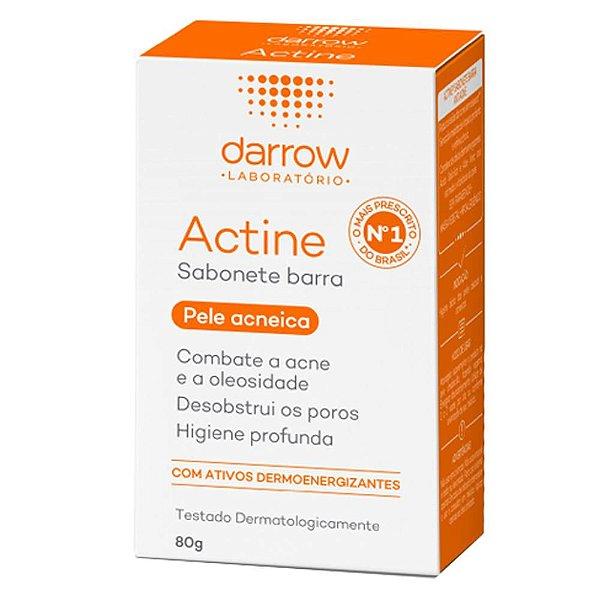 Darrow Actine Sabonete Barra Pele Acneica 80g