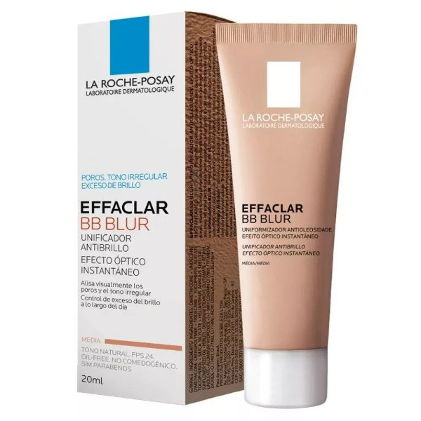 Effaclar Bb Blur Antibrilho Fps 24 Cor Media 20ml La Roche-Posay