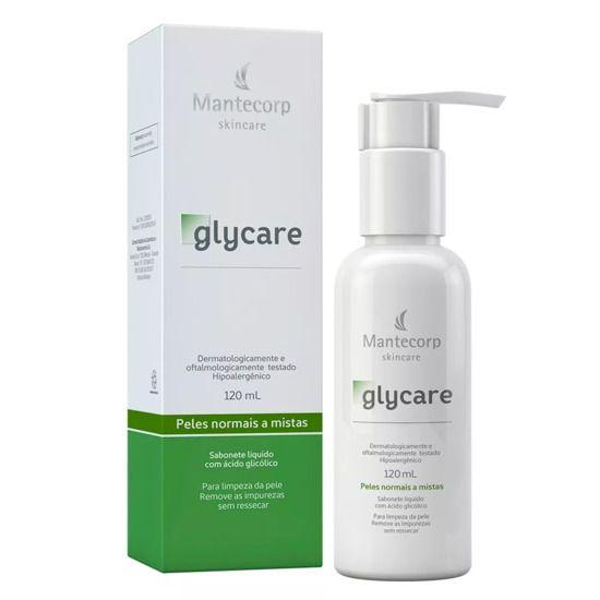 Glycare Sabonete Liquido Facial 120ml Mantecorp