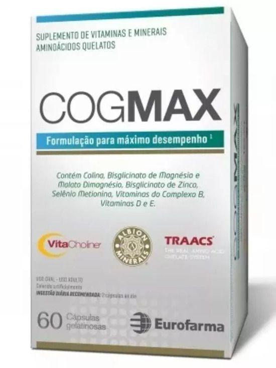 Cogmax 60 Cápsulas Eurofarma