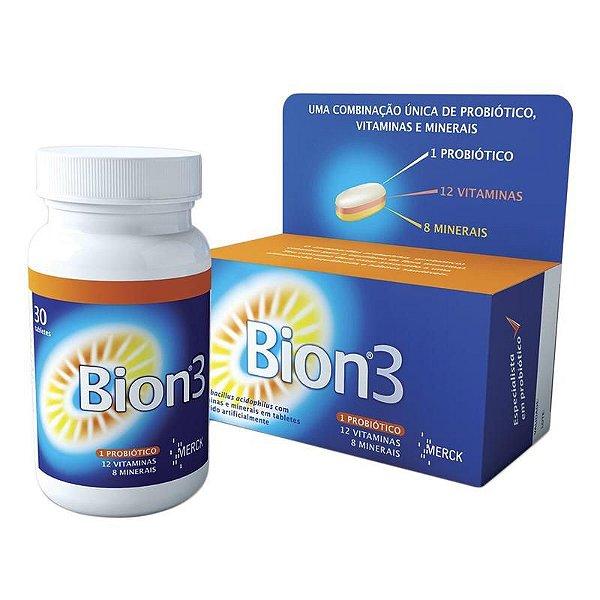 Bion3 Com 30 Comprimidos Merck