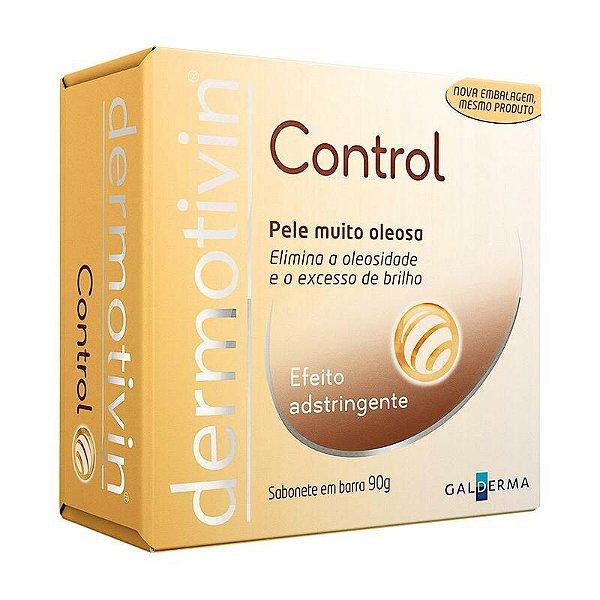 Dermotivin Control Sabonete Em Barra Pele Muito Oleosa 90g