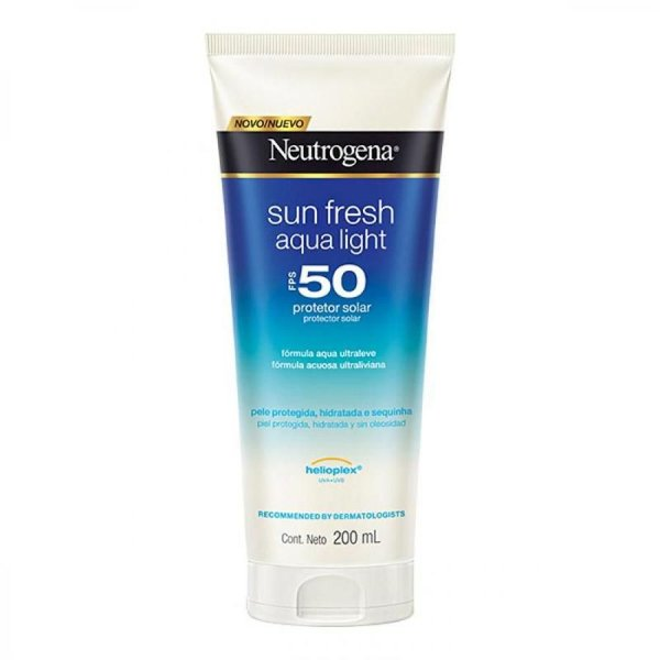Protetor Solar Neutrogena Sun Fresh Aqua Light Fps 50 200ml