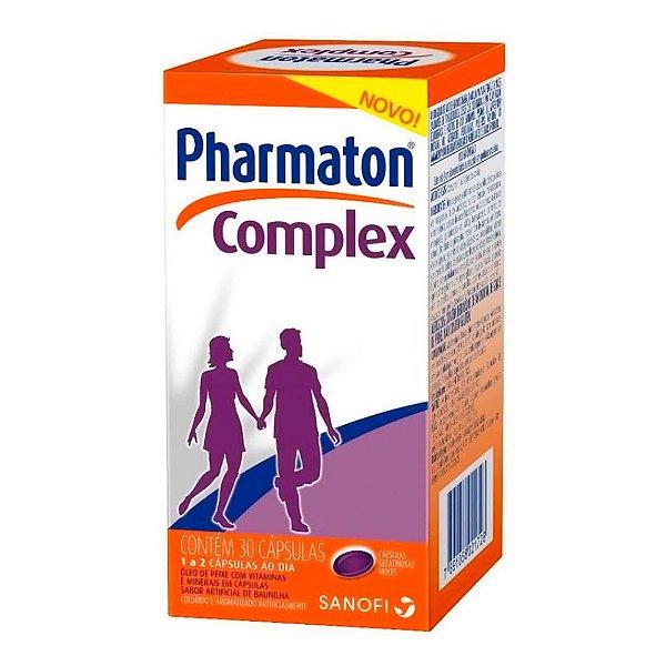 Pharmaton Complex Com 30 Cápsulas