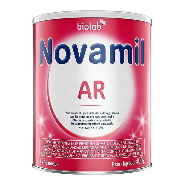 Novamil Ar Fórmula Infantil Para Lactentes 400g