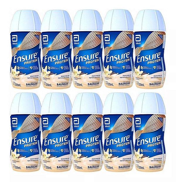 Ensure Protein Sabor Baunilha 220ml 10 Unidades