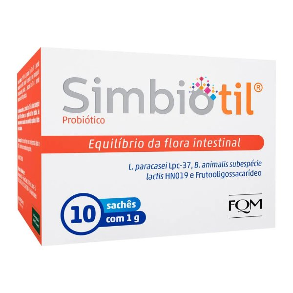Simbiotil Po Com 10 Saches 1g