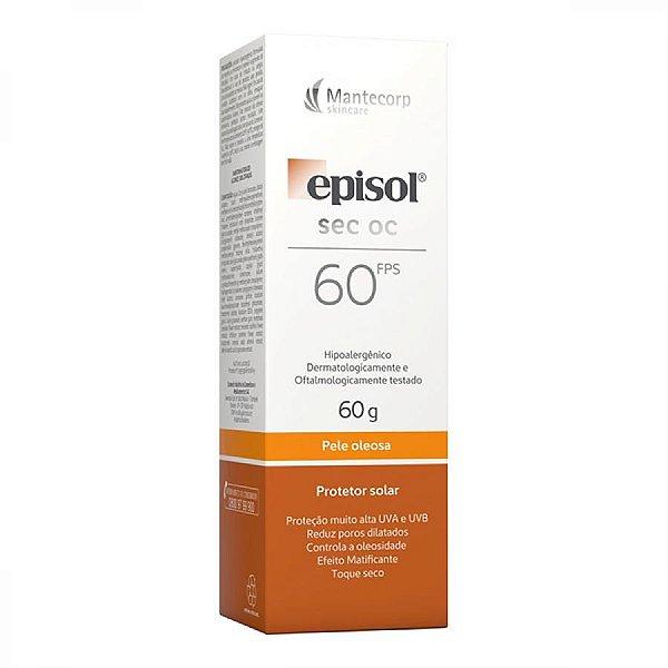 Protetor Solar Episol Sec Oc Fps 60 60g Mantecorp