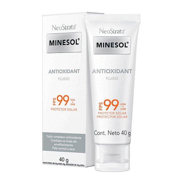 Neostrata Minesol Antioxidante Fps 99 Fluido 40g