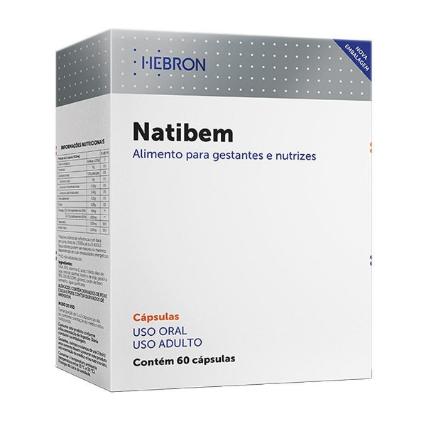Natibem Com 60 Cápsulas