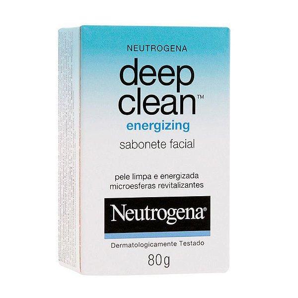 Sabonete Facial Neutrogena Deep Clean Energizing 80g
