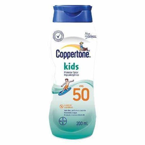 Coppertone Kids Loção Fps 50 Bayer 200ml