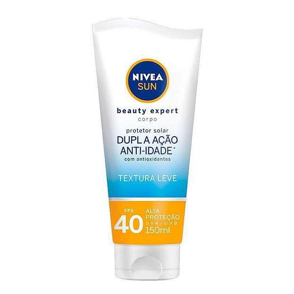 Nivea Sun Beauty Expert Protetor Solar Corporal Fps 40 150g