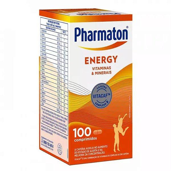 Pharmaton Energy com 100 Comprimidos