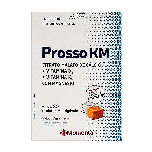 Prosso KM Tabletes Mastigáveis Com 30 Unidades