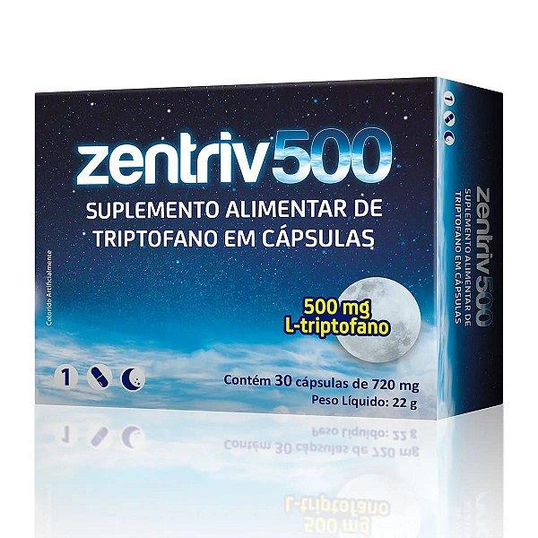 Zentriv 500 com 30 Cápsulas