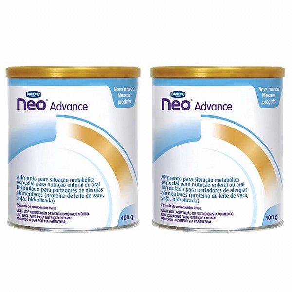 Fórmula Infantil Neocate Advance 400g 2 Unidades