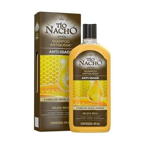 Shampoo Tio Nacho Anti Idade 415ml